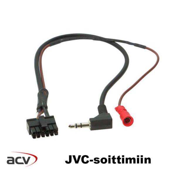 ACV rattiadapteri JVC lead