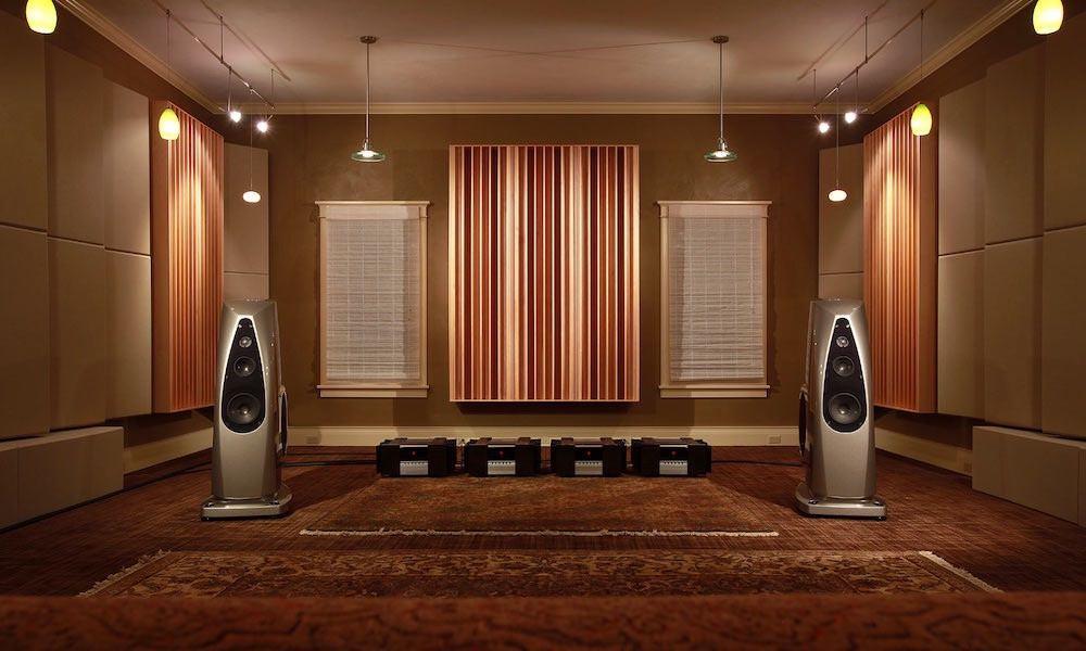 akustoitu kuunteluhuone