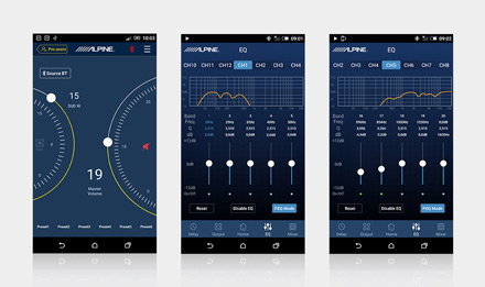 alpine pwd-x5 app