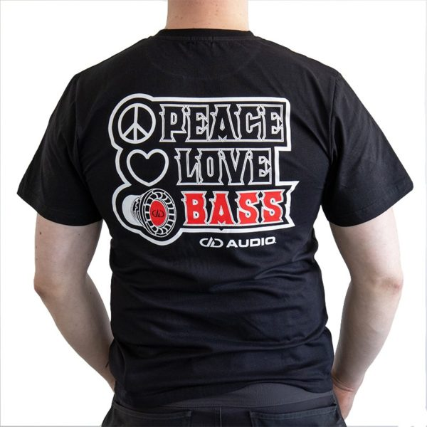 Peace&Love&Bass t-paita DD