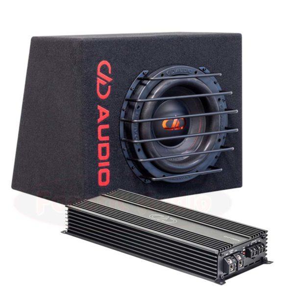 DD Audio 550 bassopaketti