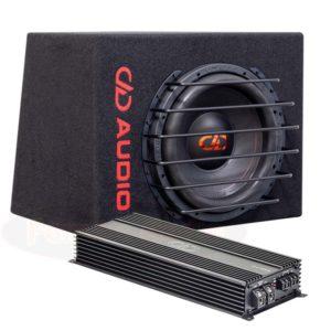 DD Audio 600 bassopaketti