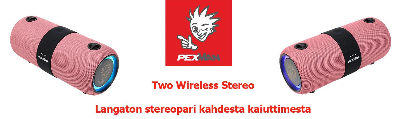 pexman two wireless stereo